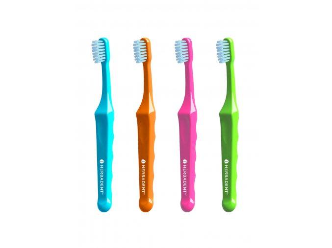 Zubní kartáčky pro děti Herbadent